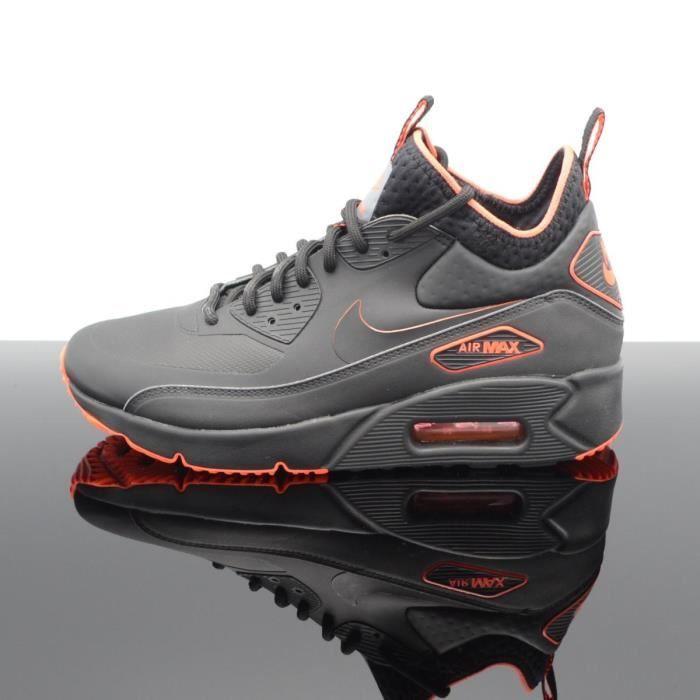 air max 90 ultra homme noir et orange,Nike Air Max 90 Ultra Mid ...
