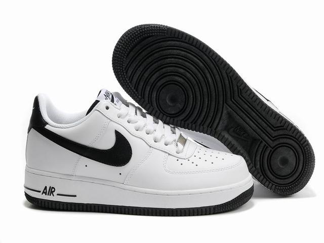 air force 1 low noir et blanche