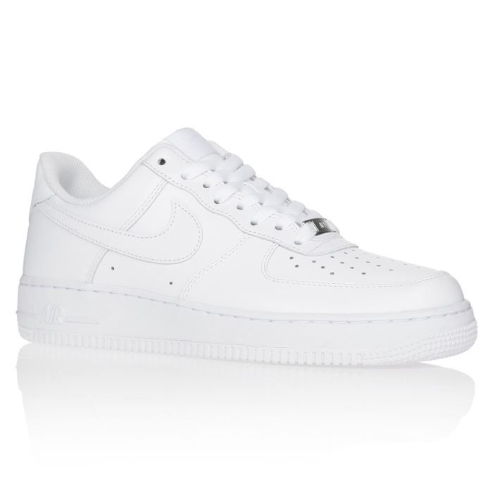 nike force 1 blanche homme,NIKE Baskets Air Force - Homme - Blanc ...